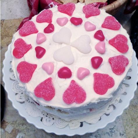 No Dye Red Velvet Cake