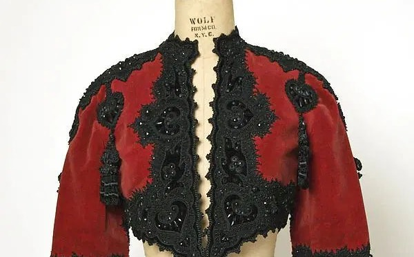 Ramblings on the History of the Bolero Jacket